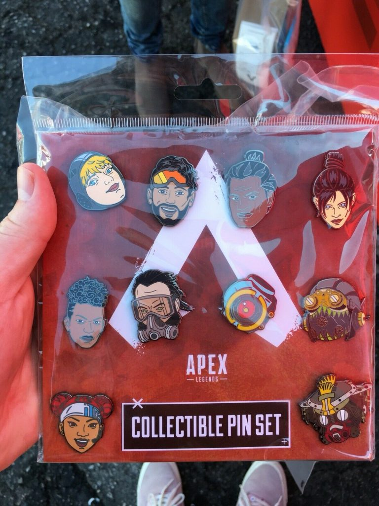 Apex Legends Collectible Pin Set EA Play Exclusive Respawn Event