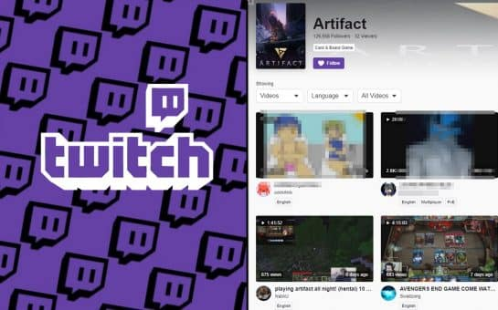 Artifact Twitch Section Is Overwhelmed By Movies And Pornographic Content