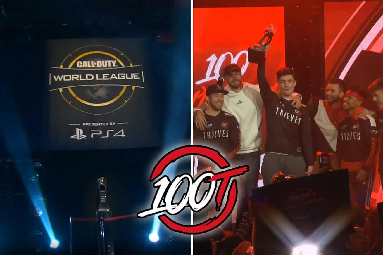 CWL Anaheim Champions – 100 Thieves Win Back-to-Back Titles