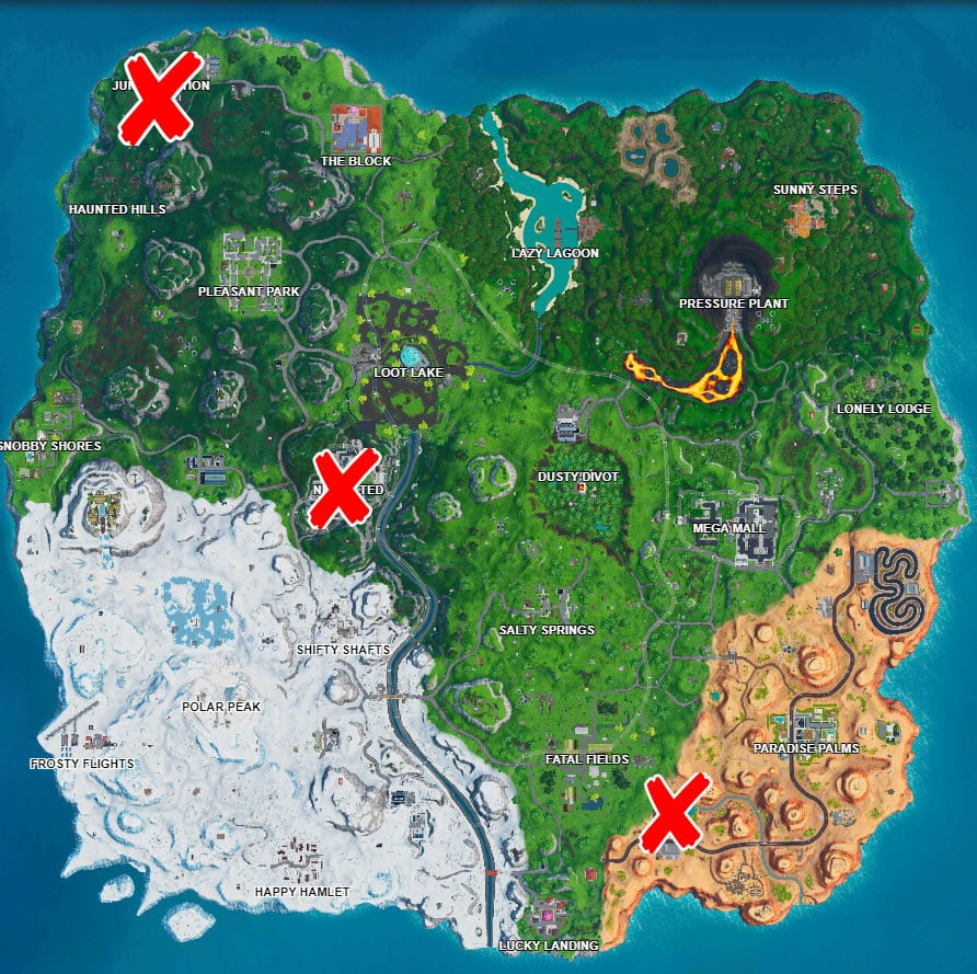 Clocks Challenge in Fortnite Days of Summer Daily