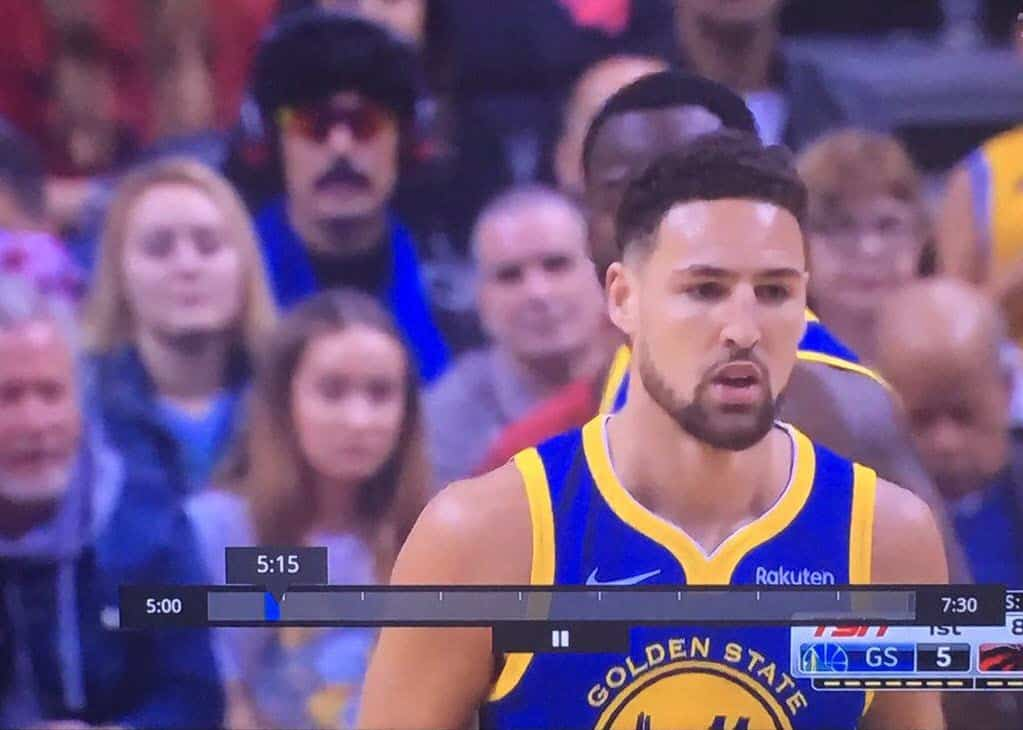 Dr Disrespect at Game 2 of NBA Finals Toronto Raptors VS Golden State Warriors