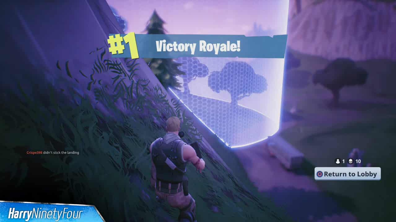 First Fortnite Battle Royale Victory Season 0 2017