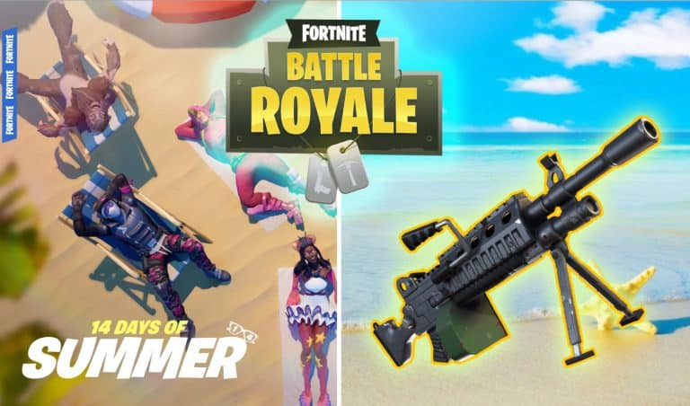 Fortnite 14 Days of Summer Event Vaulted Weapon Day