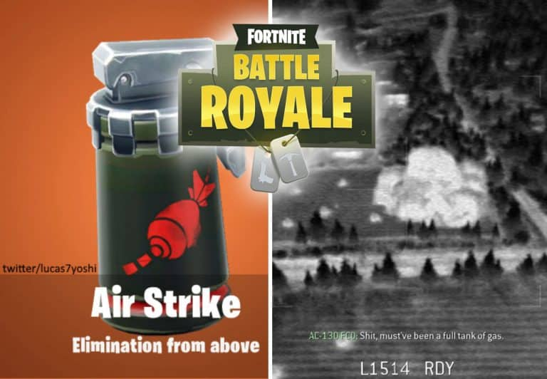 Fortnite Air Strike Item Leaked