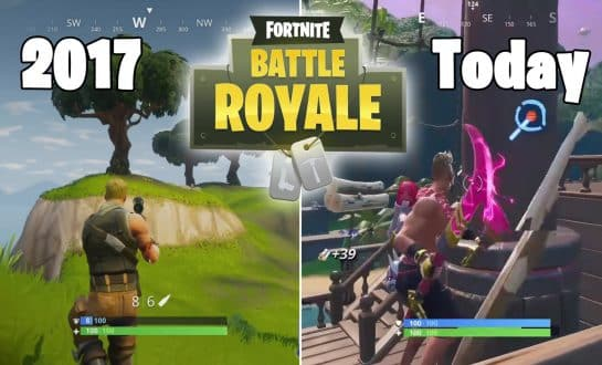 How Was Fortnite Battle Royale in 2017 Compared To Today