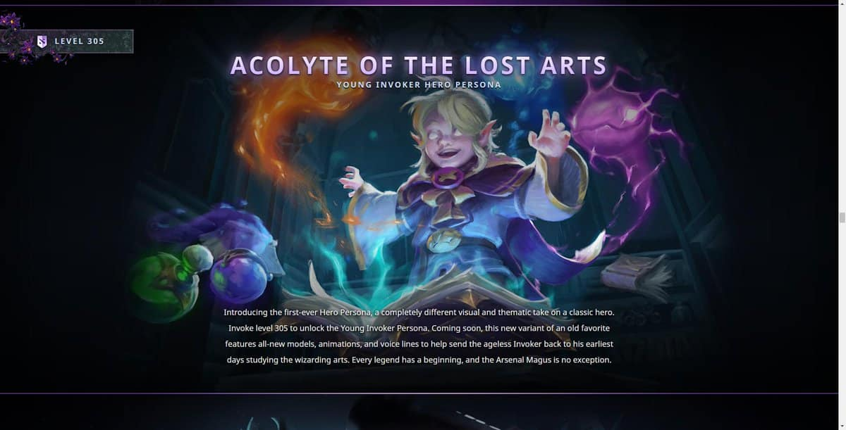 Invoker Persona Dota 2 Apcolyte of the Lost Arts
