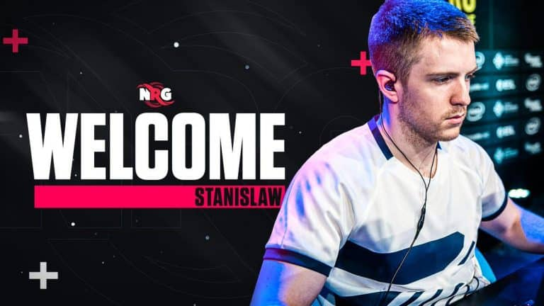 NRG Esports Benches Daps And Signs Stanislaw Esports