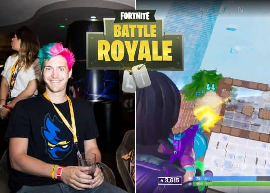 Ninja Gets 6 Kills in 40 Seconds in Fortnite