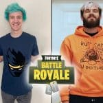Ninja and PewDiePie Teams Up for Friday Fortnite