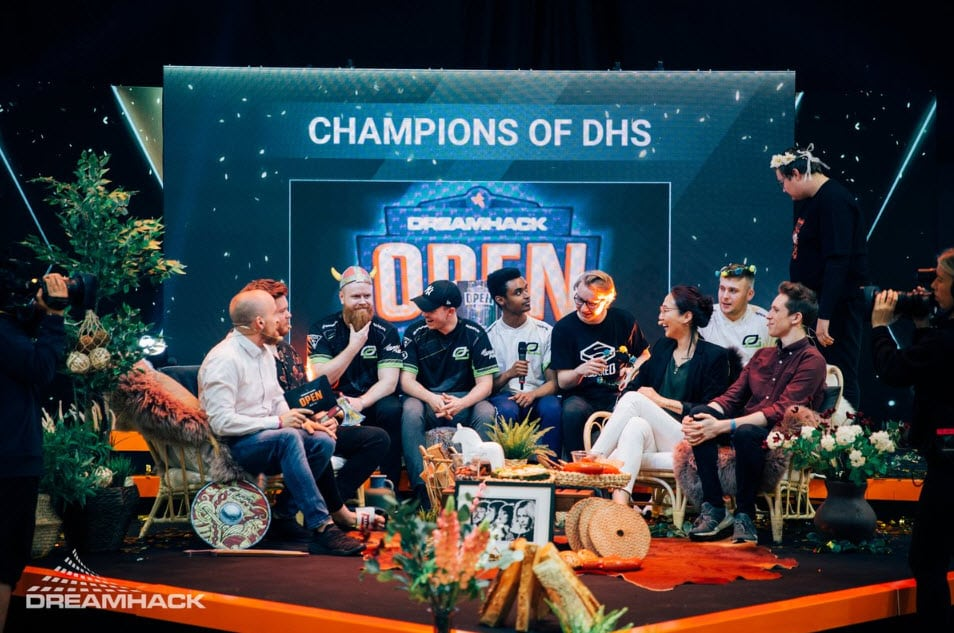 OpTic Gaming DreamHack Champions of DHS 2019 CSGO Esports