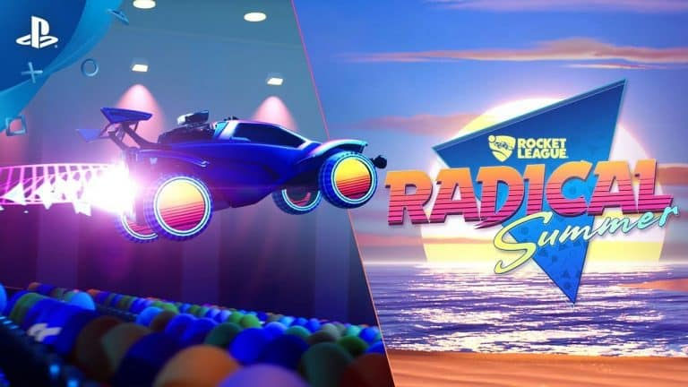 Rocket League's Radical Summer Event Coming June 10th
