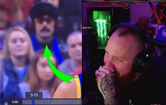 TimTheTatman Reacts to Dr Disrespect Going to Toronto Raptors Game