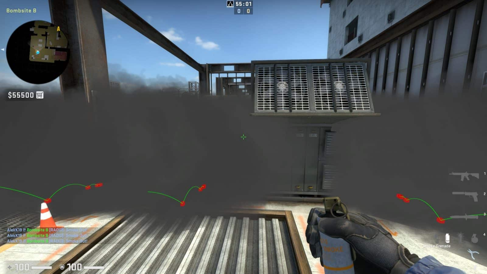 Vertigo is heavily T-sided in CSGO