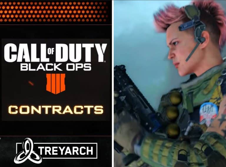 What Are Call of Duty Black Ops 4 Contracts