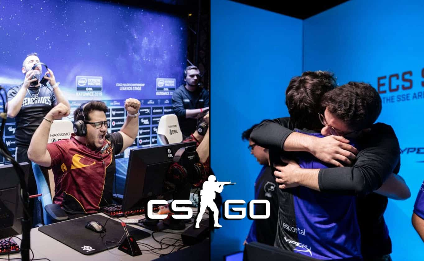 10 Greatest CSGO esports Comebacks We've Seen So Far In 2019