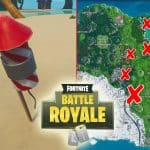 All Fortnite Fireworks Locations Along River Bank