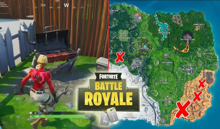 All Fortnite Grills Locations