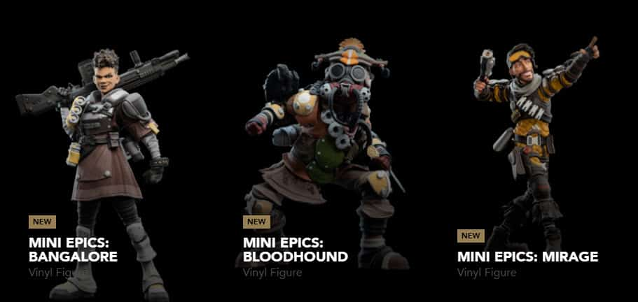 Apex Legends Action Figures Collectible Toy