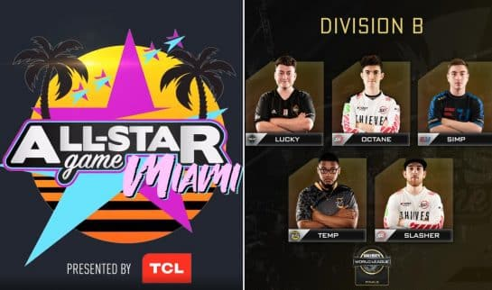 CWL Miami All-Star Game Division B Wins Esports