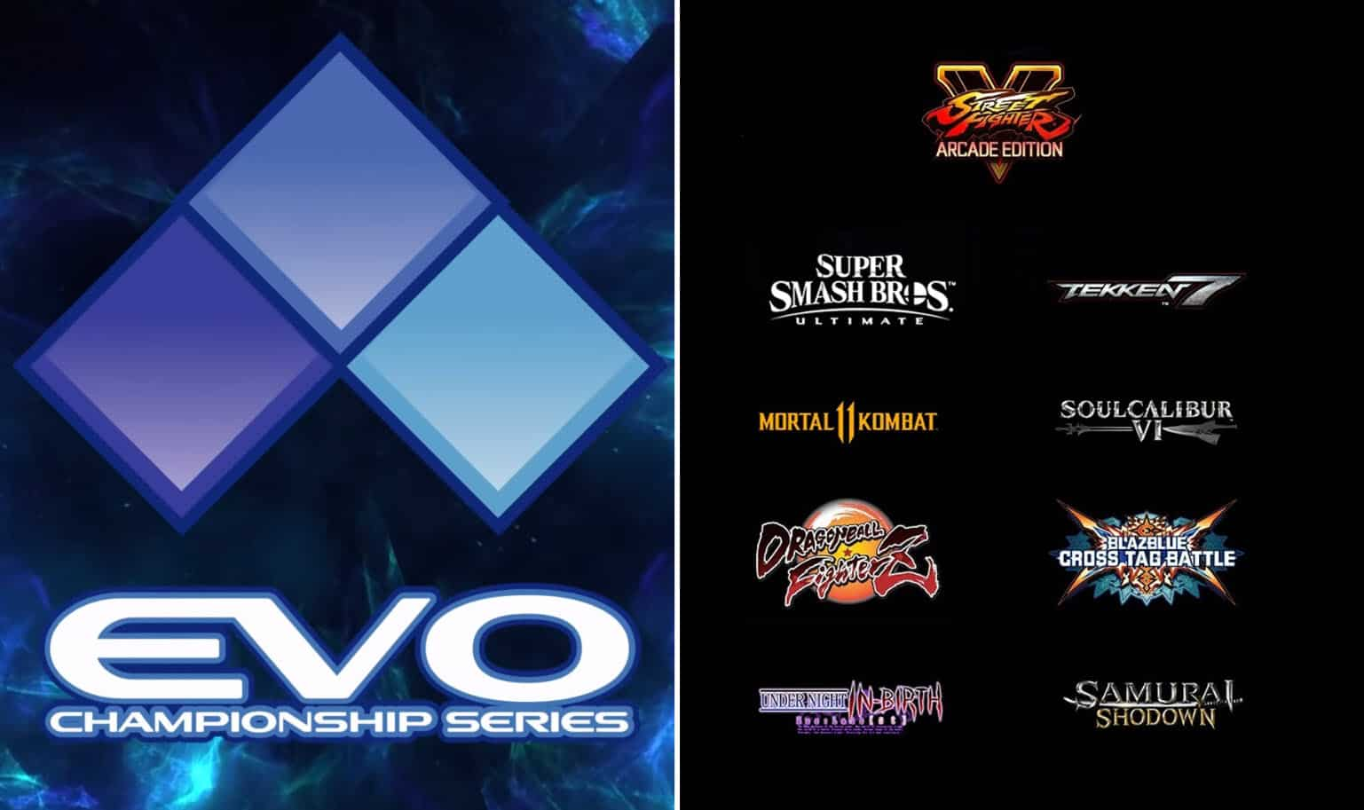 EVO 2019 Everything You Need To Know. Guide, Start Date, Schedule