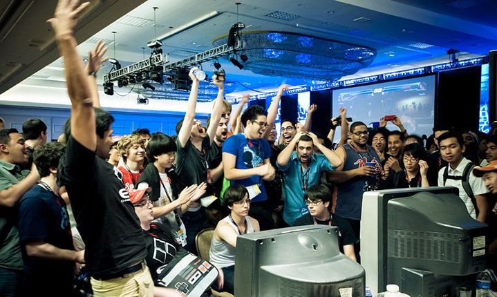 EVO celebration fighting tournament esports