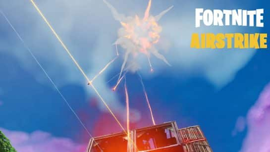 Fortnite Air Strike is Here