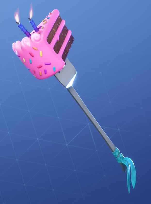 Fortnite Birthday Slice Pickaxe
