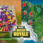 Fortnite Carnival Clown Board Challenge Locations