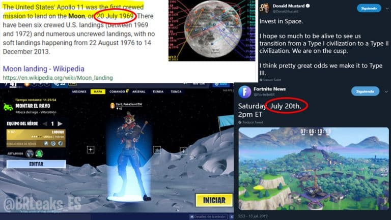 Fortnite Cattus vs. Doggus Event Theories On Moon Landing