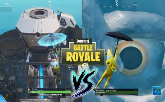 Fortnite Doggus vs. Cattus Event - Battle Of The Robot And Monster