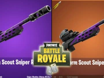 Fortnite Storm Scout Sniper Rifle Leaked