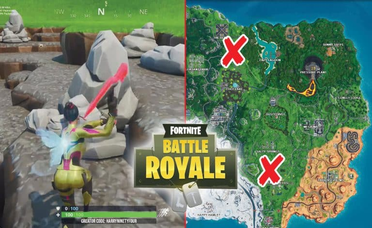 How To Collect Stone From A Fork Knife Of Umbrella In Fortnite