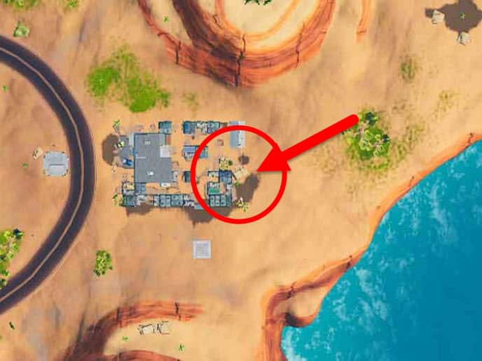 How to Solve the Fortnite Pattern Match Puzzle Outside a Desert Junkyard