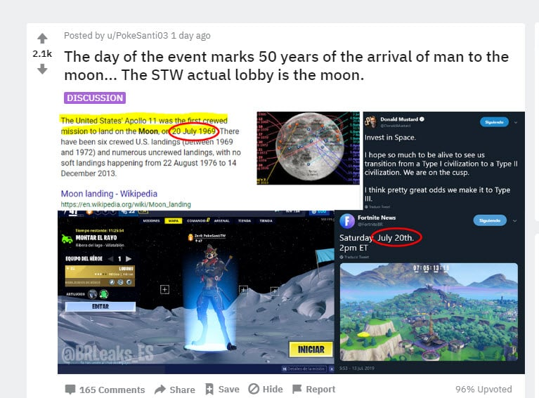 Reddit Fortnite Moon Theory