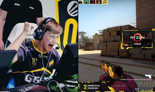 S1mple Performs Ultimate A-Site Fake
