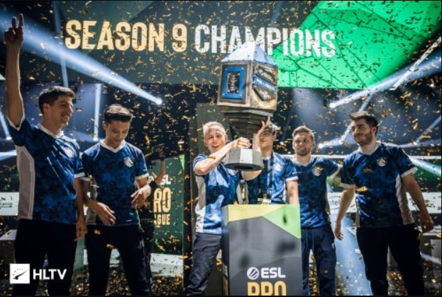 Season 9 Champions ESL Team Liquid CSGO Esports