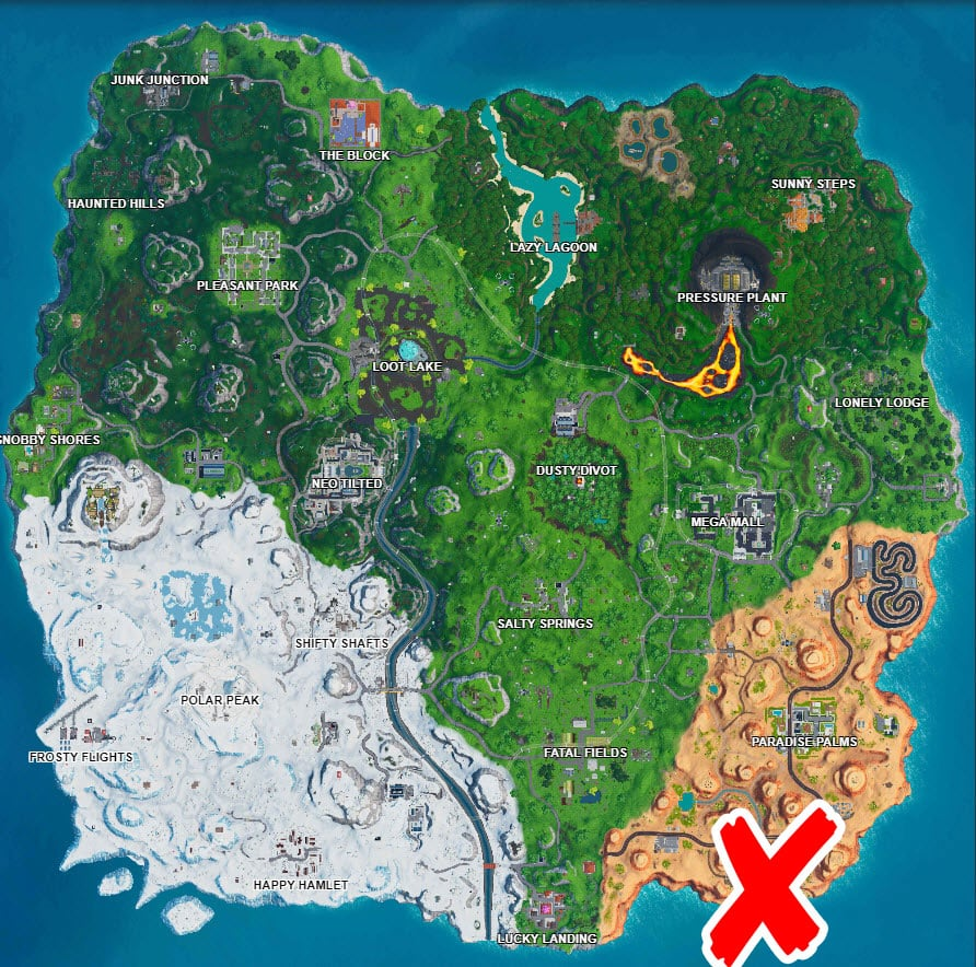 Small Rubber Ducky Location Challenge Days of Summer Fortnite