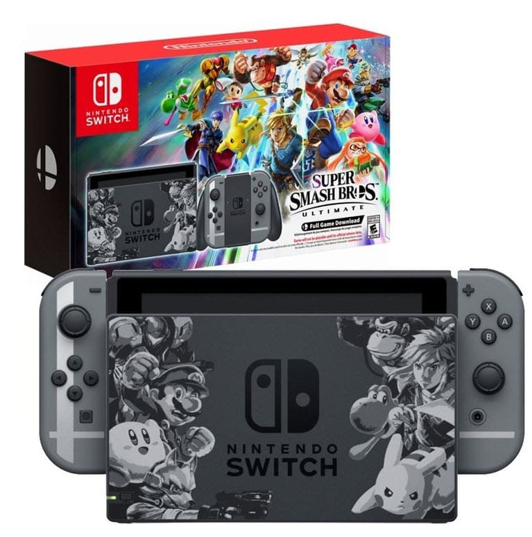 Switch Super Smash Bros Exclusive Console