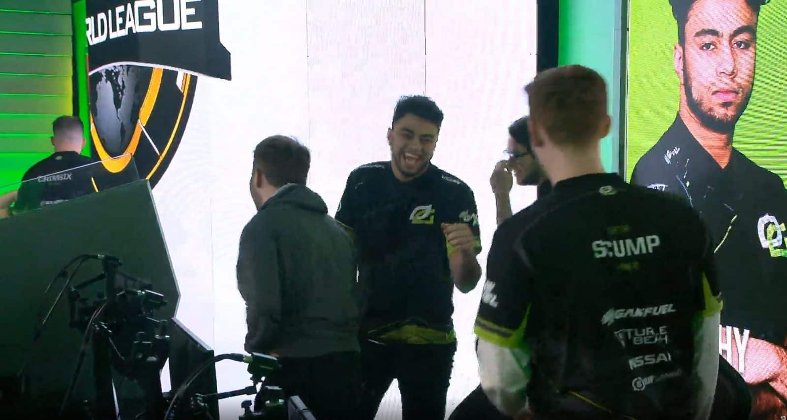Team OpTic Gaming Laughing After Elevate Fail On Search and Destroy