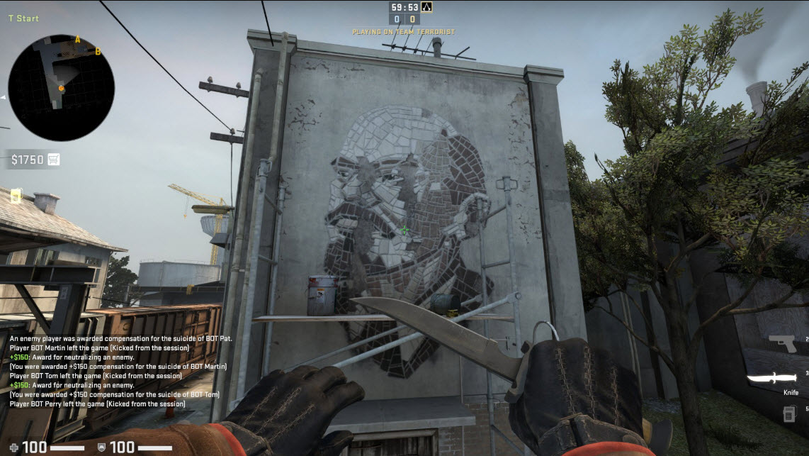 Train Easter Egg Map Vladimir Lenin CSGO