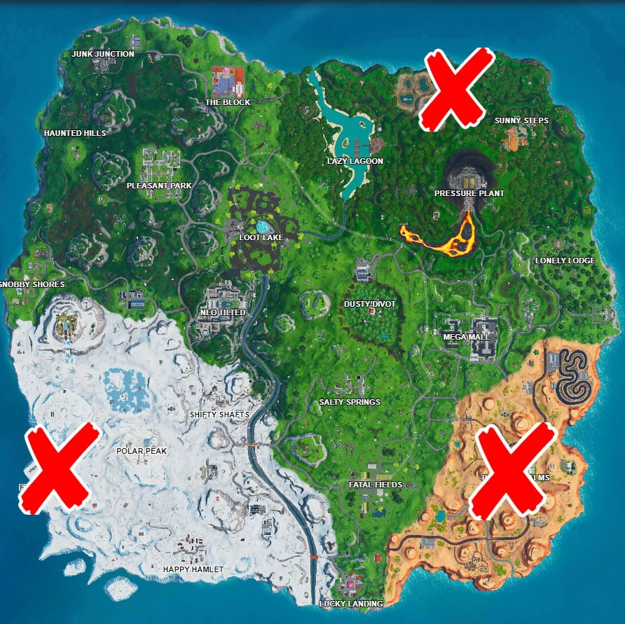 Where are the Fortnite Solar Panels challenge