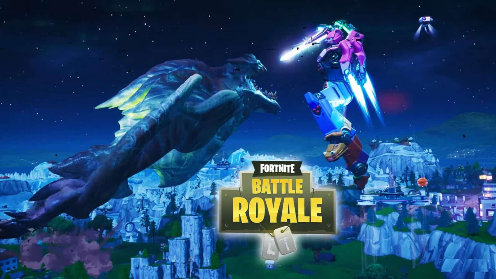 Who Won The Fight Between The Robot and the Monster [Fortnite Event]