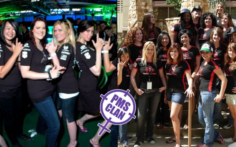 All Female Gaming Group PMS Clan Support Competitive Players in Esports