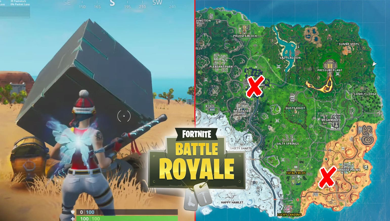 All Fortnite Cube Memorials Locations