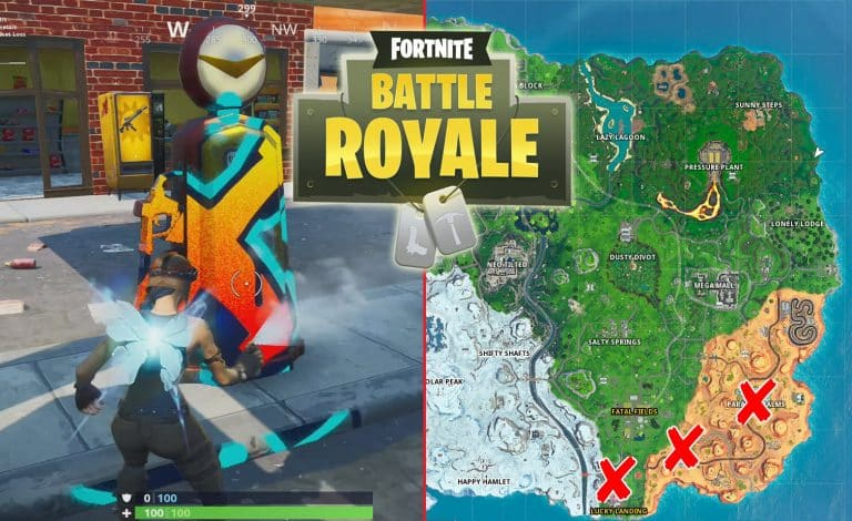 All Fortnite Gas Stations Locations