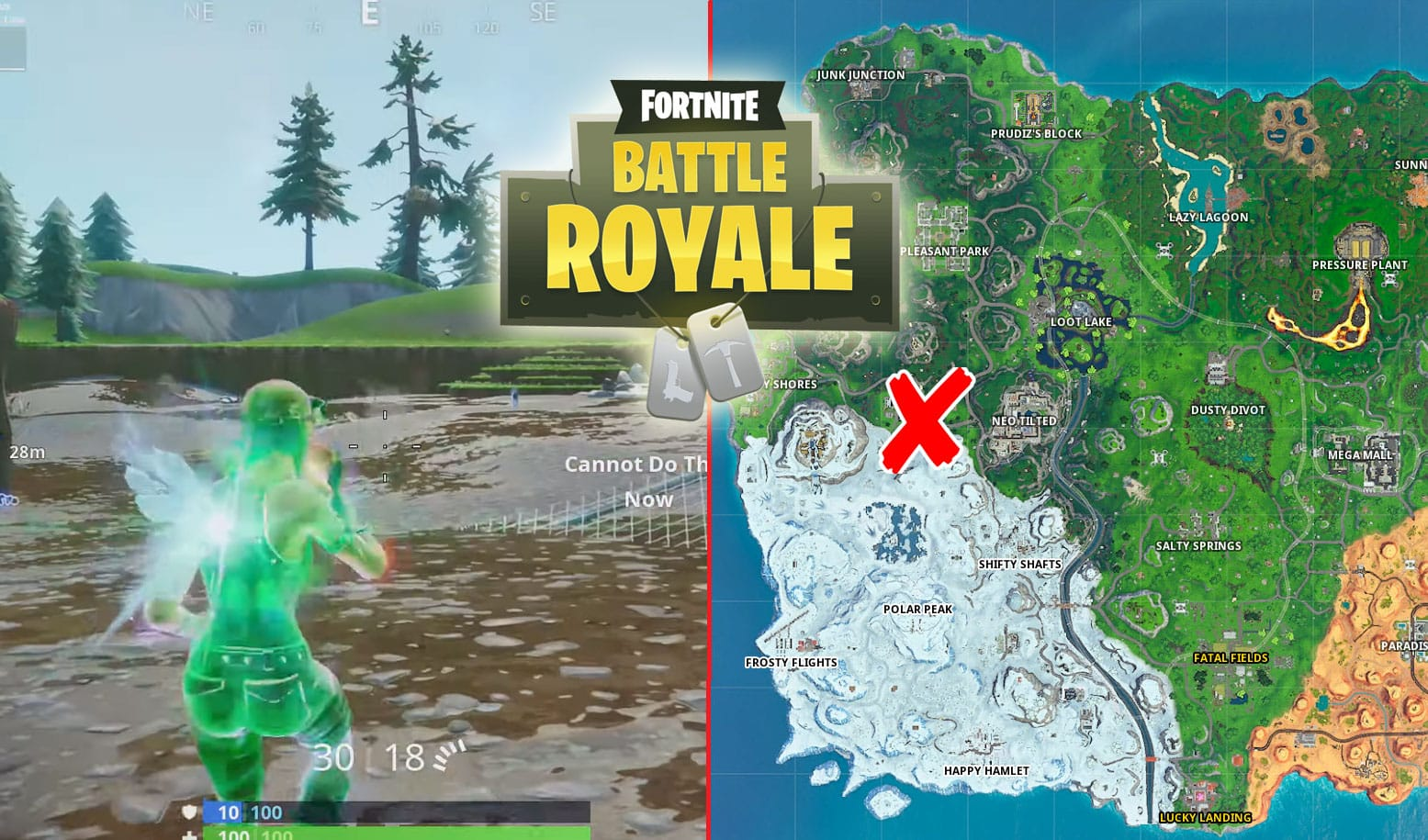 All Fortnite Glitched Foraged Items Locations