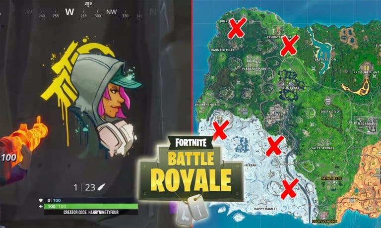 All Fortnite Lost Spray Can Locations