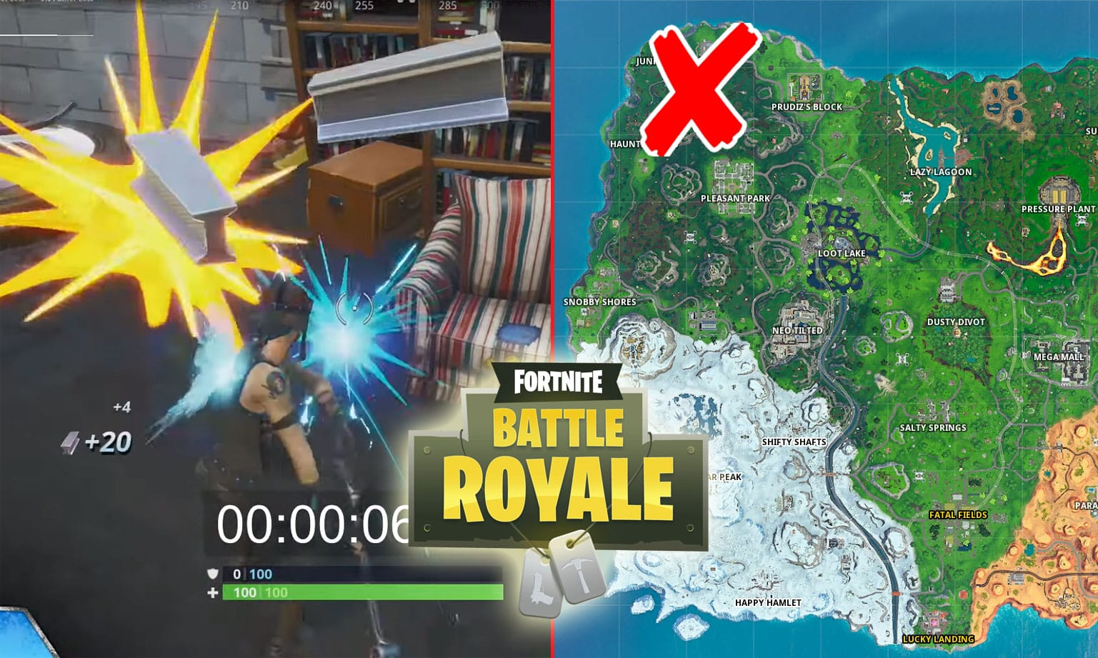 Collect 100 Material In Fortnite Challenge Guide [Smash and Grab]
