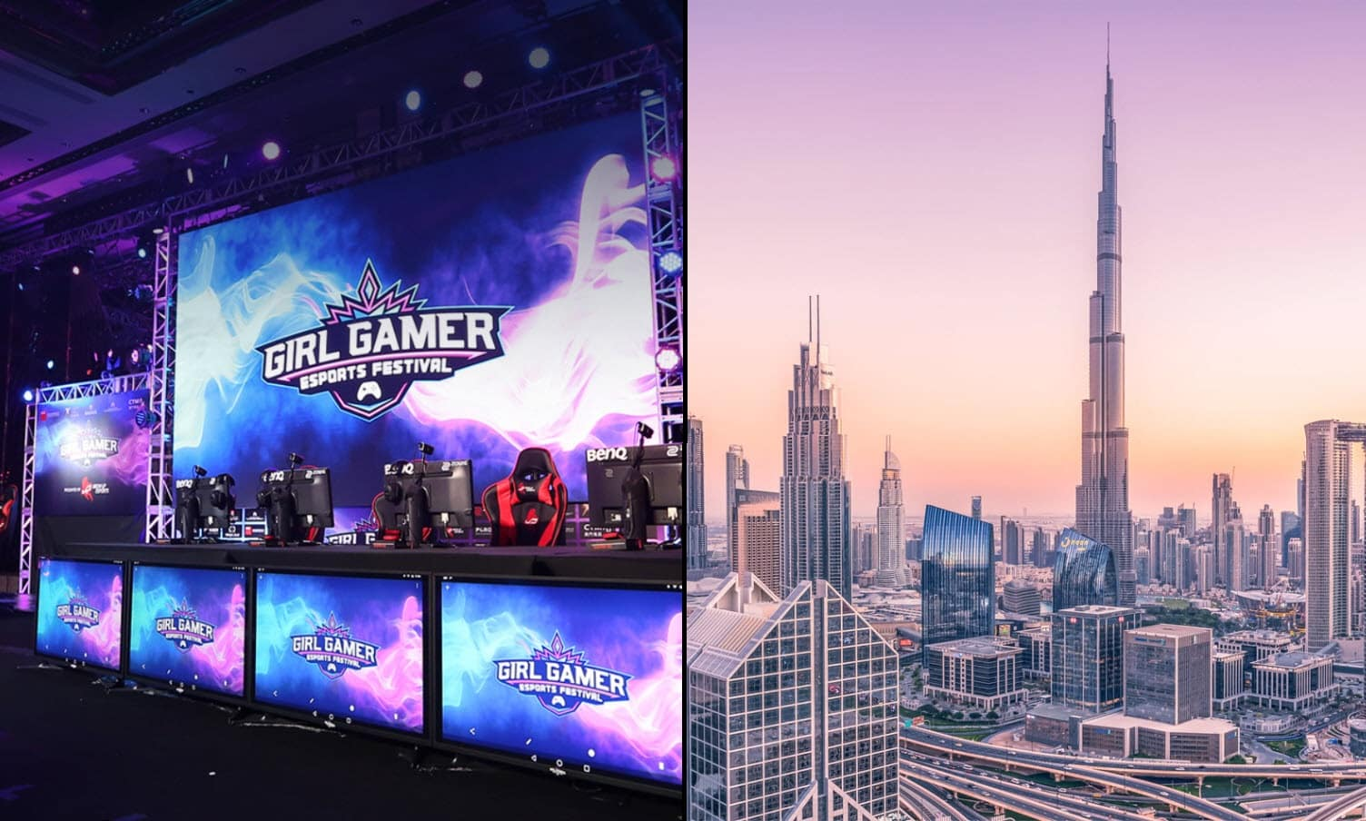 DUBAI Host GAMERGIRL Esports Event