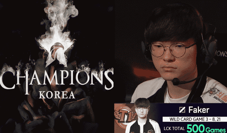 Faker Hits Career Milestone, Playing 500 LCK Games [League Of Legends]